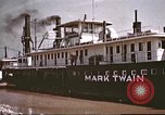 Image of steamer Mark Twain United States USA, 1942, second 35 stock footage video 65675062995