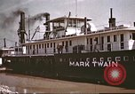 Image of steamer Mark Twain United States USA, 1942, second 36 stock footage video 65675062995
