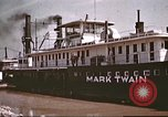 Image of steamer Mark Twain United States USA, 1942, second 37 stock footage video 65675062995