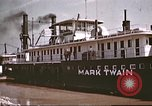 Image of steamer Mark Twain United States USA, 1942, second 38 stock footage video 65675062995