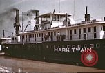 Image of steamer Mark Twain United States USA, 1942, second 39 stock footage video 65675062995