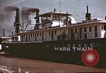Image of steamer Mark Twain United States USA, 1942, second 43 stock footage video 65675062995