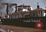 Image of steamer Mark Twain United States USA, 1942, second 44 stock footage video 65675062995