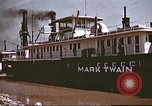 Image of steamer Mark Twain United States USA, 1942, second 45 stock footage video 65675062995