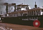 Image of steamer Mark Twain United States USA, 1942, second 47 stock footage video 65675062995