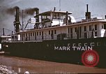 Image of steamer Mark Twain United States USA, 1942, second 48 stock footage video 65675062995