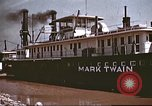 Image of steamer Mark Twain United States USA, 1942, second 49 stock footage video 65675062995