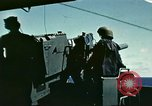 Image of Movie-making about Battle of Midway in WWII Pacific Ocean, 1942, second 1 stock footage video 65675062999