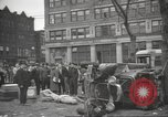 Image of damage in Johnstown Pennsylvania from 1936 flood Johnstown Pennsylvania USA, 1936, second 15 stock footage video 65675063003