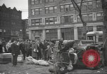Image of damage in Johnstown Pennsylvania from 1936 flood Johnstown Pennsylvania USA, 1936, second 16 stock footage video 65675063003