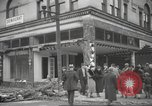 Image of damage in Johnstown Pennsylvania from 1936 flood Johnstown Pennsylvania USA, 1936, second 33 stock footage video 65675063003