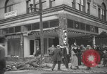 Image of damage in Johnstown Pennsylvania from 1936 flood Johnstown Pennsylvania USA, 1936, second 34 stock footage video 65675063003