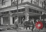 Image of damage in Johnstown Pennsylvania from 1936 flood Johnstown Pennsylvania USA, 1936, second 35 stock footage video 65675063003