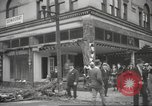 Image of damage in Johnstown Pennsylvania from 1936 flood Johnstown Pennsylvania USA, 1936, second 36 stock footage video 65675063003
