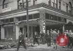 Image of damage in Johnstown Pennsylvania from 1936 flood Johnstown Pennsylvania USA, 1936, second 37 stock footage video 65675063003