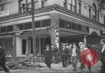 Image of damage in Johnstown Pennsylvania from 1936 flood Johnstown Pennsylvania USA, 1936, second 38 stock footage video 65675063003