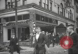 Image of damage in Johnstown Pennsylvania from 1936 flood Johnstown Pennsylvania USA, 1936, second 39 stock footage video 65675063003