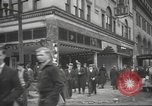 Image of damage in Johnstown Pennsylvania from 1936 flood Johnstown Pennsylvania USA, 1936, second 40 stock footage video 65675063003