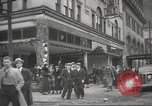 Image of damage in Johnstown Pennsylvania from 1936 flood Johnstown Pennsylvania USA, 1936, second 41 stock footage video 65675063003