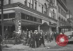 Image of damage in Johnstown Pennsylvania from 1936 flood Johnstown Pennsylvania USA, 1936, second 42 stock footage video 65675063003