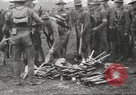 Image of World War I American soldiers building barracks United States USA, 1917, second 16 stock footage video 65675063006