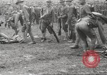 Image of World War I American soldiers building barracks United States USA, 1917, second 31 stock footage video 65675063006