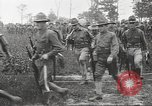 Image of World War I American soldiers building barracks United States USA, 1917, second 41 stock footage video 65675063006