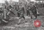 Image of World War I American soldiers building barracks United States USA, 1917, second 47 stock footage video 65675063006