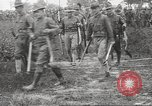 Image of World War I American soldiers building barracks United States USA, 1917, second 48 stock footage video 65675063006