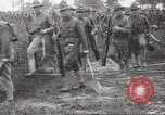 Image of World War I American soldiers building barracks United States USA, 1917, second 49 stock footage video 65675063006