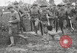 Image of World War I American soldiers building barracks United States USA, 1917, second 50 stock footage video 65675063006