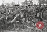 Image of World War I American soldiers building barracks United States USA, 1917, second 51 stock footage video 65675063006
