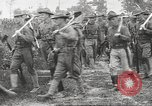 Image of World War I American soldiers building barracks United States USA, 1917, second 53 stock footage video 65675063006