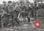 Image of World War I American soldiers building barracks United States USA, 1917, second 56 stock footage video 65675063006