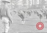 Image of Barracks for American soldier recruits World War 1 United States USA, 1917, second 51 stock footage video 65675063007