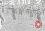 Image of Barracks for American soldier recruits World War 1 United States USA, 1917, second 54 stock footage video 65675063007