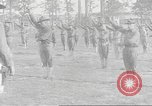 Image of Barracks for American soldier recruits World War 1 United States USA, 1917, second 57 stock footage video 65675063007
