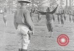 Image of Barracks for American soldier recruits World War 1 United States USA, 1917, second 62 stock footage video 65675063007