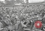 Image of Major General Thomas H Barry addresses soldiers Rockford Illinois USA, 1917, second 25 stock footage video 65675063008