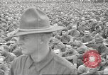 Image of Major General Thomas H Barry addresses soldiers Rockford Illinois USA, 1917, second 31 stock footage video 65675063008