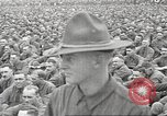 Image of Major General Thomas H Barry addresses soldiers Rockford Illinois USA, 1917, second 32 stock footage video 65675063008