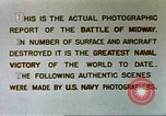 Image of Scenes of Midway Island in World War II Midway Island, 1942, second 31 stock footage video 65675063017