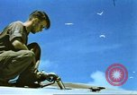 Image of USAAF B-17s on Midway Island in World War II Midway Island, 1942, second 48 stock footage video 65675063018