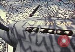 Image of Names on various P-47 aircraft World War 2 United States USA, 1942, second 53 stock footage video 65675063029