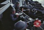 Image of Crew of British warship demonstrate techniques United Kingdom, 1942, second 33 stock footage video 65675063031