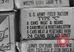 Image of United States military food ration shipping United States USA, 1943, second 7 stock footage video 65675063041