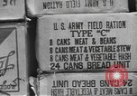 Image of United States military food ration shipping United States USA, 1943, second 8 stock footage video 65675063041