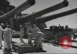 Image of USS North Carolina live firing exercise Atlantic Ocean, 1941, second 26 stock footage video 65675063047