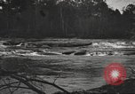 Image of view of waterway United States USA, 1944, second 34 stock footage video 65675063060