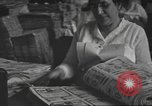 Image of government printing plant United States USA, 1944, second 25 stock footage video 65675063067